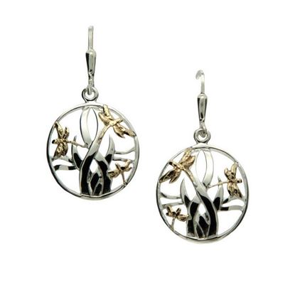 Keith Jack - PEX4803 Dragonfly Earrings