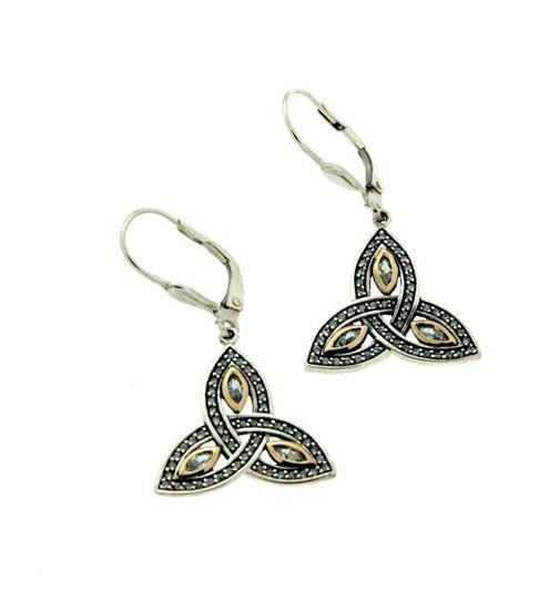 Keith Jack - PEX6621 Trinity Earrings