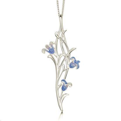 Sheila Fleet - EP242 Bluebell Pendant (enamel shown in bluebell)