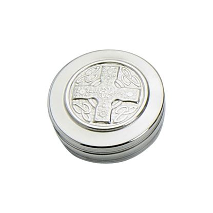 Iona Cross Trinket Box - 50mm