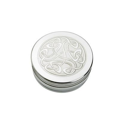 Celtic Scroll Trinket Box - 50mm