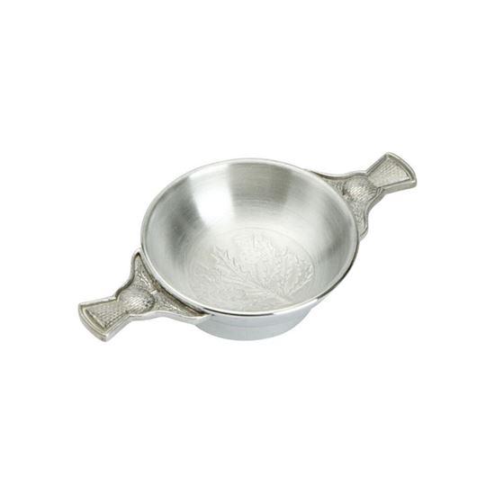 Thistle Quaich - 2 inch diameter