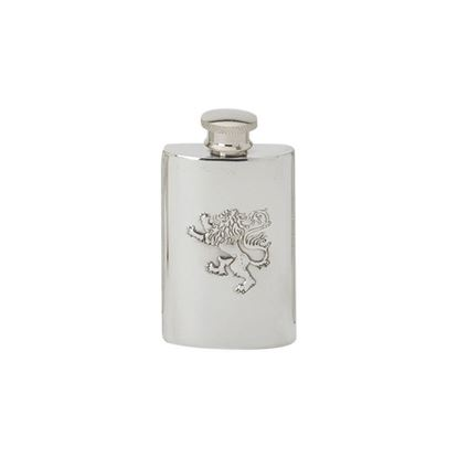 Lion Rampant Hip Flask - 2oz
