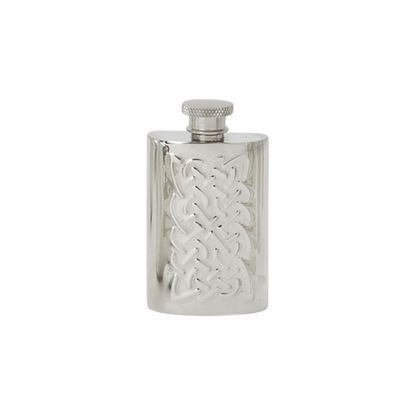 Celtic Rope Hip Flask - 2oz