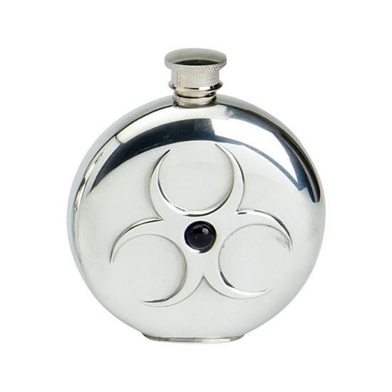 Onyx Round Hip Flask - 6oz