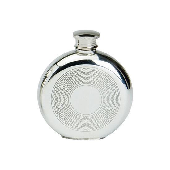 Basket Weave Hip Flask - 4oz