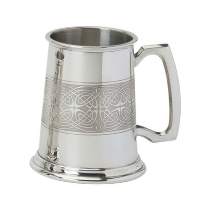 Celtic Panel Tankard - 1 Pint