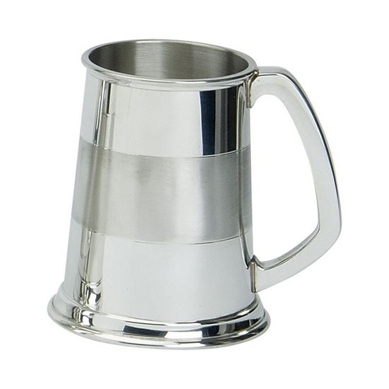 Satin Band Tankard - 1 Pint