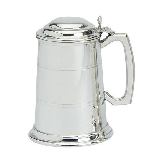 Standard Tankard with lid - 1 Pint