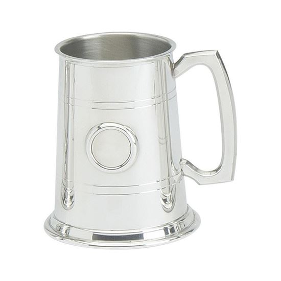Badge Mount Tankard - 1 Pint