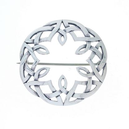 Hebridean Celtic Brooch - Silver