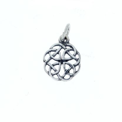 Hebridean Celtic Charm - Silver