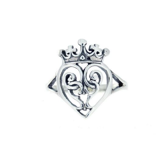 Luckenbooth Ring - Silver