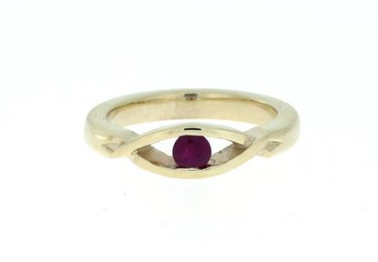 Lochnagar Ruby Ring - 9ct Yellow Gold
