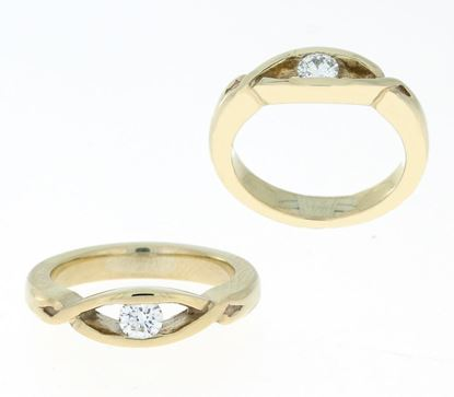 Lochnagar Diamond Ring - 9ct Yellow Gold