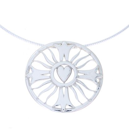 Celina Rupp - Heart of the Chapel Necklet (Large)