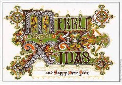 Christmas Card - English