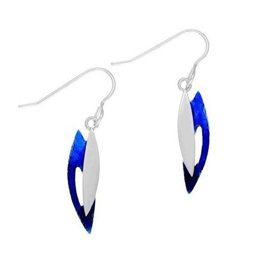 Ortak - Bali Earrings (enamel shown in Oasis)
