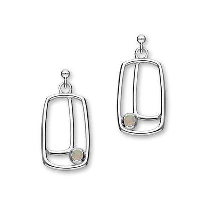 Ortak - Aurora Earrings (set with synthetic opal)