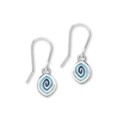 Ortak - Maggies Earrings (enamel shown in Waterfall)