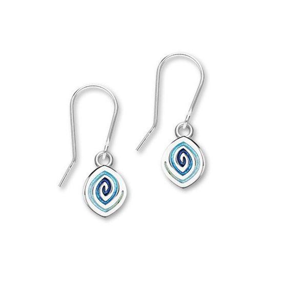 Ortak - Maggies Earrings (enamel shown in Waterfall)