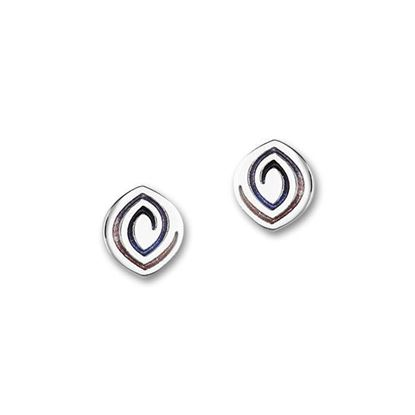 Ortak - Maggies Earrings (enamel shown in Sirocco)