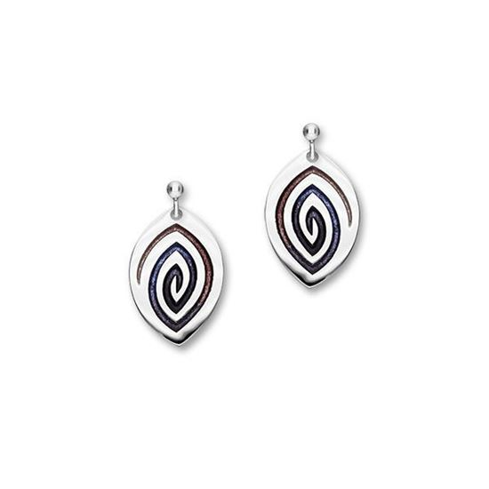 Ortak - Maggie Earrings (enamel shown in Sirocco)