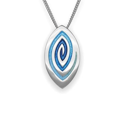 Ortak - Maggies Pendant (enamel shown in Waterfall)