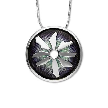 Ortak - Ring of Brodgar Pendant (enamel shown in Northern Lights)