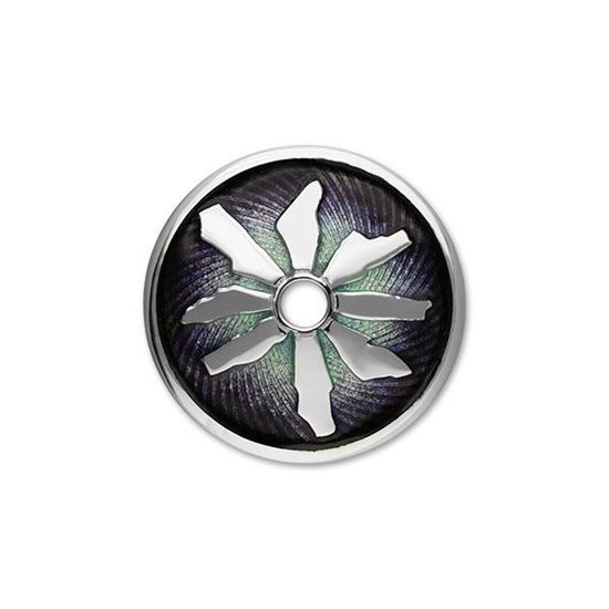 Ortak - Ring of Brodgar Brooch (enamel shown in Northern Lights)