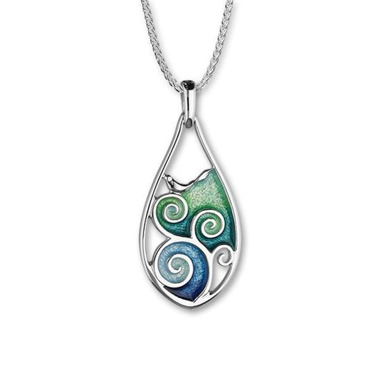 Ortak - Tranquility Pendant (enamel colour shown in Waterfall/Tundra)