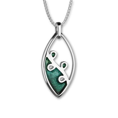 Ortak - Tranquility Pendant (enemal colour shown in Prairie/Meadow)