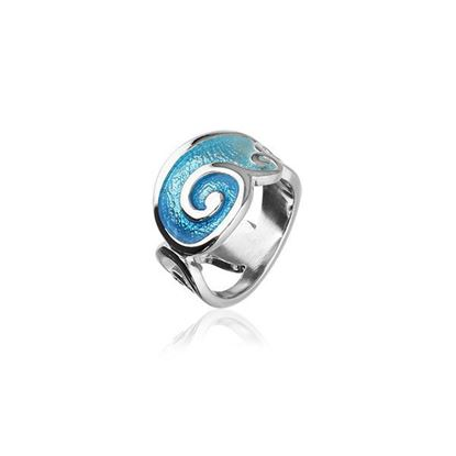 Ortak - Tranquility Ring (enamel colour shown in Marine/Spearmint)