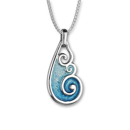 Ortak - Tranquility Pendant (enamel colour shown in Marine/Spearmint)