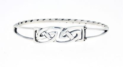 Hebridean - Celtic Bangle - Silver