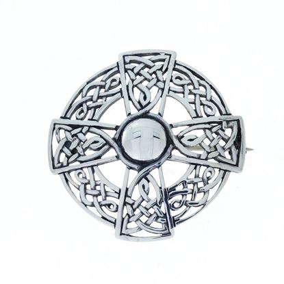 Hebridean - Celtic Brooch - Silver