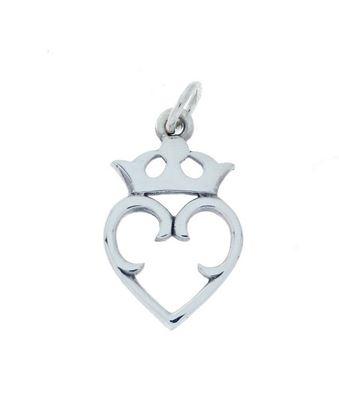 Hebridean - Luckenbooth Charm - Silver