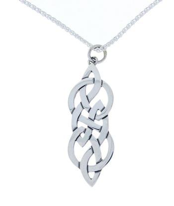 Hebridean - Celtic Pendant - Silver