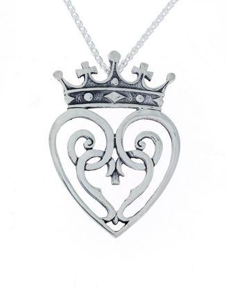 Hebridean - Luckenbooth Pendant - Silver