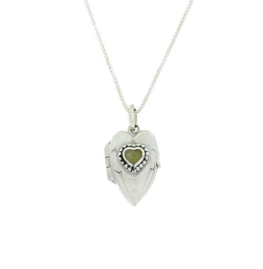 Sellors - Iona Marble Heart Locket