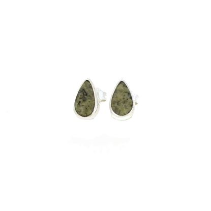 Sellors - Iona Marble Pear Stud Earrings