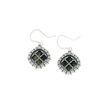Sellors - Iona Marble Abbey Window Earrings