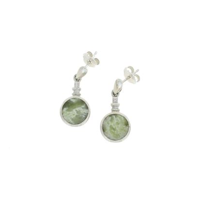 Sellors - Iona Marble Bottle Top Earrings