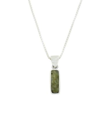 Sellors - Iona Marble Oblong Pendant