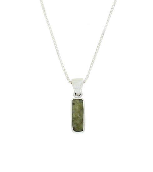 Sellors - Iona Marble Oblong Pendant