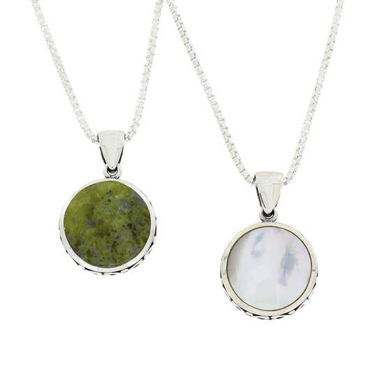 Sellors - Iona Marble Celtic Fob Pendant
