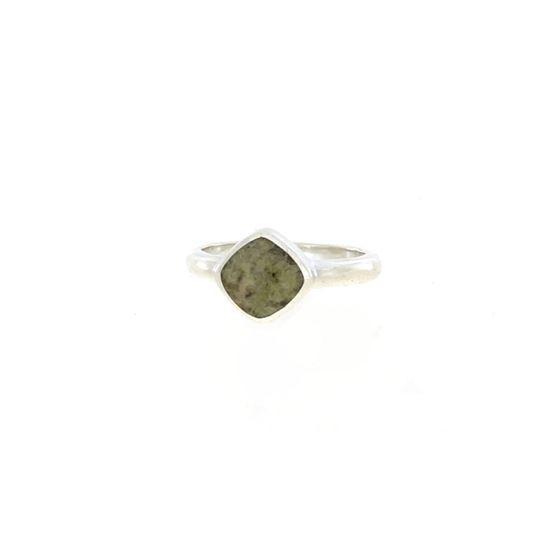 Sellors - Iona Marble Cushion Shape Ring