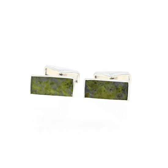 Sellors - Iona Marble Oblong Cufflinks
