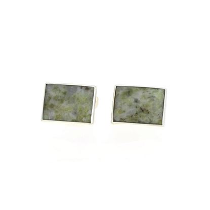 Sellors - Iona Marble Square Cufflinks