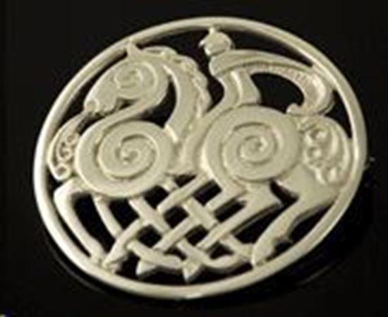 Shetland - Sleipnir Brooch - Silver